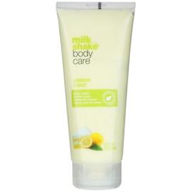 Milk Shake Body Care Lemon Cake hidratáló testkrém parabénmentes és szilikonmentes  200 ml