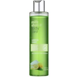 Milk Shake Body Care Lemon Cake hydratační sprchový gel bez parabenů a silikonů  250 ml