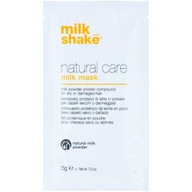 Milk Shake Natural Care Milk posilující mléčná maska na vlasy  12 ks