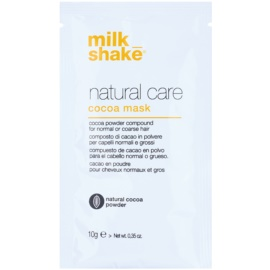 Milk Shake Natural Care Cocoa regenerační maska na vlasy s čokoládou  12 ks
