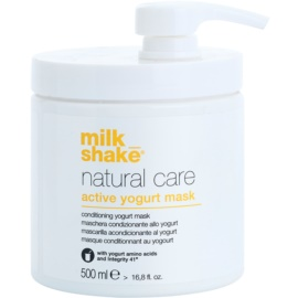 Milk Shake Natural Care Active Yogurt masca de iaurt activa par  500 ml