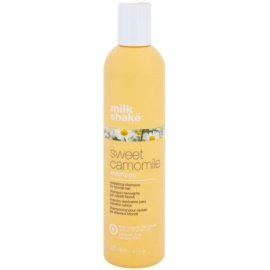 Milk Shake Sweet Camomile šampon s heřmánkem pro blond vlasy bez parabenů  300 ml