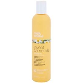Milk Shake Sweet Camomile Shampoo mit Kamille für blonde Haare parabenfrei  300 ml