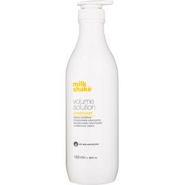 Milk Shake Volume Solution condicionador para cabelos normais e finos para volume e forma   1000 ml
