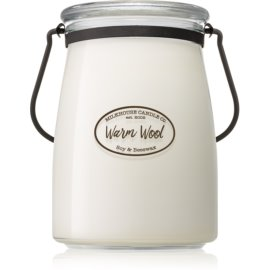 Milkhouse Candle Co. Creamery Warm Wool vonná sviečka 624 g Butter Jar