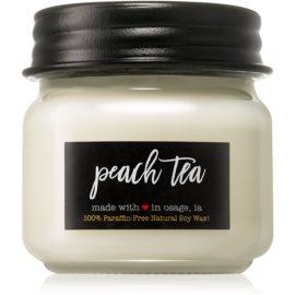 Milkhouse Candle Co. Farmhouse Peach Tea vonná svíčka Mason Jar 198 g