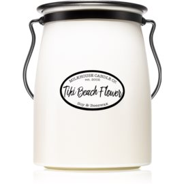 Milkhouse Candle Co. Creamery Tiki Beach Flower ароматна свещ  624 гр. Butter Jar