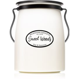 Milkhouse Candle Co. Creamery Sweet Woods Duftkerze  624 g Butter Jar