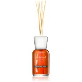 Millefiori Natural Vanilla and Wood aroma difusor com recarga 500 ml