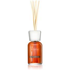 Millefiori Natural Vanilla and Wood aroma difusor com recarga 100 ml