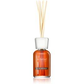 Millefiori Natural Vanilla and Wood aroma difusor com recarga 250 ml