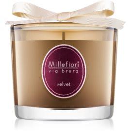 Millefiori Via Brera Velvet świeczka zapachowa  180 g