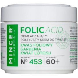 Mincer Pharma Folic Acid N° 450 fiatalító arckrém 60+ N° 453  50 ml