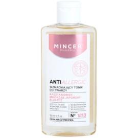 Mincer Pharma AntiAllergic N° 1200 tónico fortalecedor para pieles sensibles con tendencia a las rojeces N ° 1213  150 ml