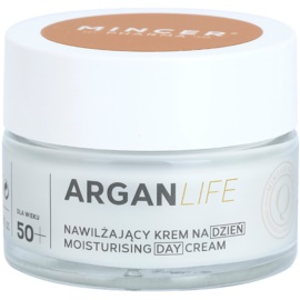 Mincer Pharma ArganLife N° 800 50+ krem nawilżający na dzień N° 801  50 ml