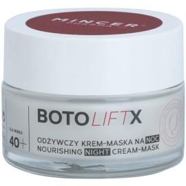 Mincer Pharma BotoLiftX N° 700 40+ výživná noční krém-maska pro suchou pleť N ° 703  50 ml
