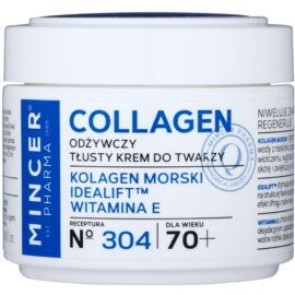 Mincer Pharma Collagen N° 300 creme antirrugas nutritivo 70+ N° 304  50 ml
