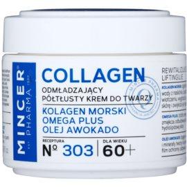 Mincer Pharma Collagen N° 300 creme rejuvenescedor 60+ N° 303  50 ml