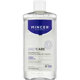 Mincer Pharma Daily Care N° 00 agua micelar limpiadora con efecto regenerador N ° 03  250 ml