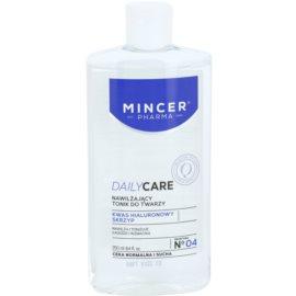 Mincer Pharma Daily Care N° 00 hidratáló arctonik N ° 04  250 ml