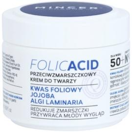 Mincer Pharma Folic Acid N° 450 крем за лице против бръчки 50+ N° 452  50 мл.