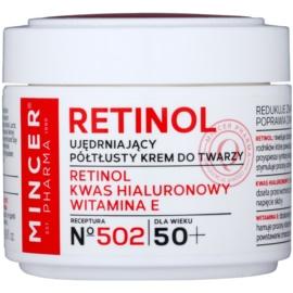 Mincer Pharma Retinol N° 500 zpevňující krém 50+ N° 502  50 ml