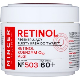 Mincer Pharma Retinol N° 500 crema regeneradora antiarrugas 60+ N° 503  50 ml