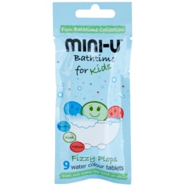 Mini-U Bathtime tablety do koupele pro děti  9 x 3 g