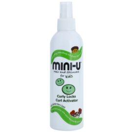 Mini-U Hair and Skincare dětský sprej pro kudrnaté vlasy  250 ml
