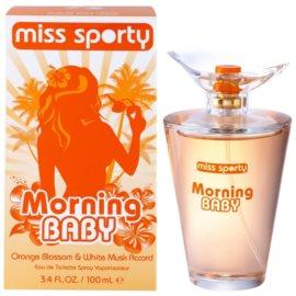 Miss Sporty Morning Baby toaletná voda pre ženy 100 ml