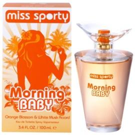 Miss Sporty Morning Baby toaletní voda pro ženy 100 ml