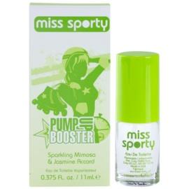 Miss Sporty Pump Up Booster eau de toilette nőknek 11 ml
