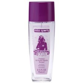 Miss Sporty Crush on You Perfume Deodorant for Women 75 ml
