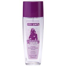 Miss Sporty Crush on You deodorant s rozprašovačem pro ženy 75 ml