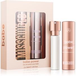 Missguided Babe Power подаръчен комплект II.  парфюмна вода 15 ml + съдържание 15 ml