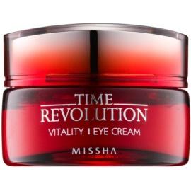 Missha Time Revolution Augencreme gegen Falten  25 ml