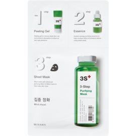 Missha 3-Step maschera detergente in tre fasi  25 g