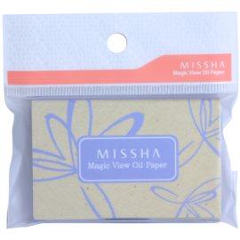 Missha Accessories papírky na zmatnění  100 ks
