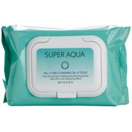 Missha Super Aqua All In One Abschminktücher 2in1  40 St.