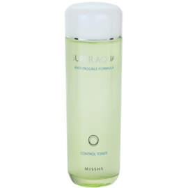 Missha Super Aqua Anti-Trouble Formula Toner For Deep Cleaning For Problematic Skin  150 ml