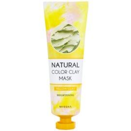 Missha Natural Color Clay máscara de argila brasileira com efeito brilhante  137 g
