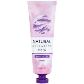 Missha Natural Color Clay maska s brazilským jílem pro zpevnění pleti  137 g