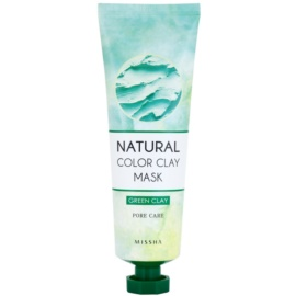 Missha Natural Color Clay maszk brazil agyaggal a kitágult pórusokra  137 g