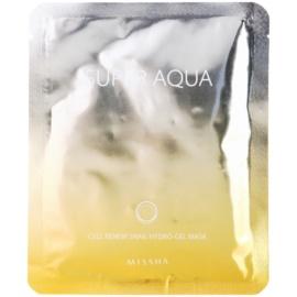Missha Super Aqua Cell Renew Snail Hydratisierende Maske mit Snail Extract  28 g