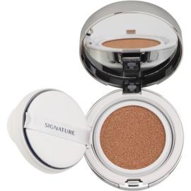 Missha Signature Essence Cushion rozjasňující tekutý make-up v houbičce SPF 50+ odstín 21  14 g