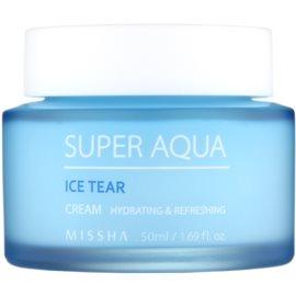 Missha Super Aqua Ice Tear feuchtigkeitsspendende Gesichtscreme  50 ml