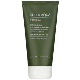Missha Super Aqua Pore - Kling spuma de curatat pentru pori dilatati  150 ml