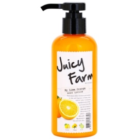 Missha Juicy Farm My Lime Orange tělové mléko  200 ml