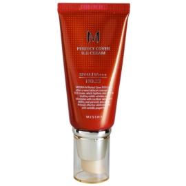 Missha M Perfect Cover BB krema z visoko UV zaščito odtenek No. 23 Natural Beige SPF42/PA+++ 50 ml