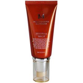 Missha M Perfect Cover BB krém s vysokou UV ochranou odstín No. 27 Honey Beige SPF42/PA+++ 50 ml